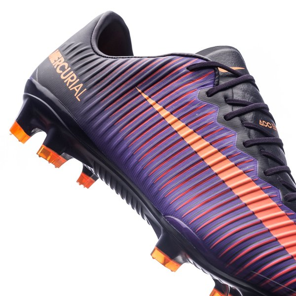 Nike Mercurial Vapor XI FG Fotballsko Purple oransje Salg i