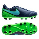 Nike Tiempo Legend 6 FG Floodlights Pack - Navy/Turkis/Grønn Barn