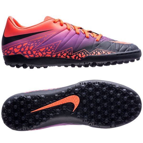 Nike Hypervenom Phelon II TF Floodlights Pack - Total Crimson Obsidian Vivid  Purple. Read more about the product. - football boots. - football boots ... 1aa1a711ef08