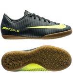 Nike MercurialX Vapor XI CR7 Chapter 3: Discovery IC - Vert/Jaune Fluo Enfant