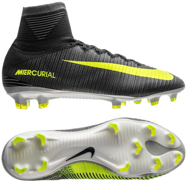 43cfbbd31927 Nike Mercurial Superfly V CR7 Chapter 3  Discovery FG - Seaweed Volt ...