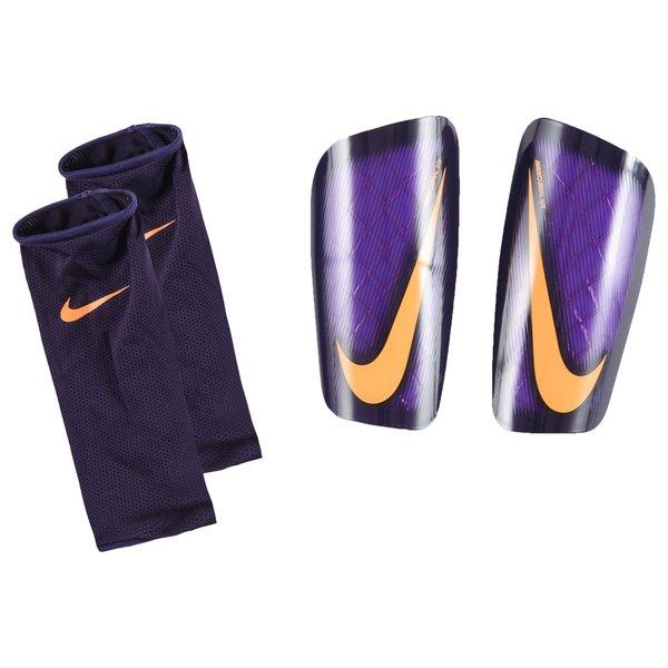 b9e2b089ab6 Nike Protège-Tibias Mercurial Lite Floodlights Pack - Violet Orange ...
