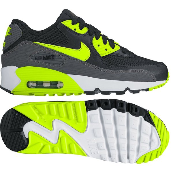 basket nike air max jaune fluo