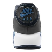 Nike Air Max 90 Mesh GråBlåSvart Barn