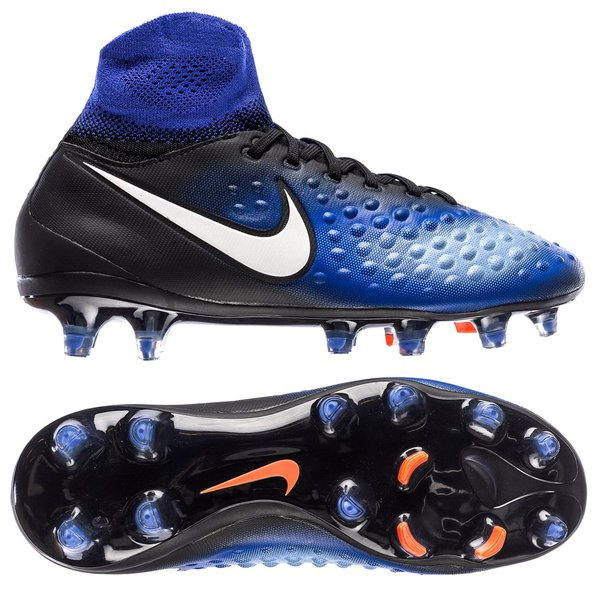 check out bcc2f c8026 Nike Magista Obra II FG Dark Lightning Pack - Noir/Blanc/Bleu Enfant ...