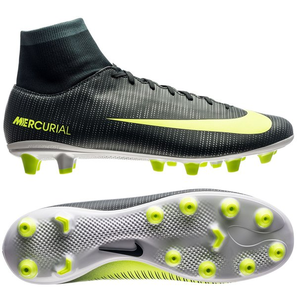 116c04a77 Nike Mercurial Victory VI CR7 Chapter 3: Discovery DF AG-PRO - Grønn/Neon