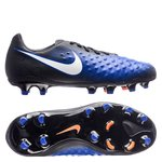 Nike Magista Opus II FG Dark Lightning Pack - Schwarz/Weiß/Blau Kinder