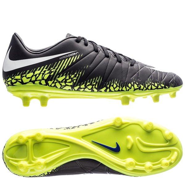 the latest 1b131 43047 Nike Hypervenom Phelon II FG Dark Lightning Pack - BlackWhiteVolt. Read  more about the product. - football boots. - football boots image shadow