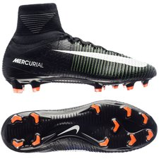 Nike Mercurial Superfly V FG Dark Lightning Pack - Black/White/Electric Green