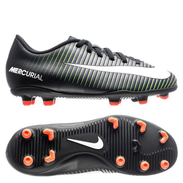 Nike Mercurial Vortex III FG Dark Lightning Pack ZwartWitGroen Kinderen