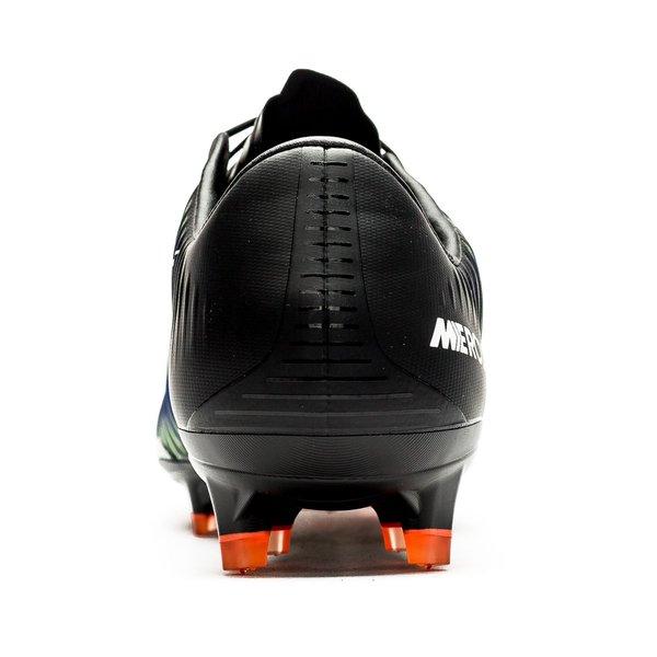 8a9f675f3 Nike Mercurial Vapor XI FG Dark Lightning Pack - Black White Electric Green