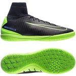 Nike MercurialX Proximo II IC Dark Lightning Pack - Sort/Grøn Børn