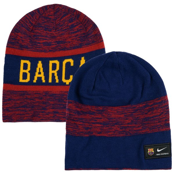 1118cb84f33 Barcelona Reversible Beanie - Loyal Blue Storm Red