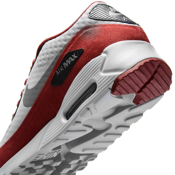Nike Air Max 90 Ultra Essential Wolf Grey Team Red 819474