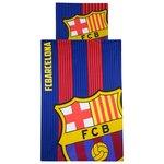 FC Barcelone Ensemble de Literie - Rouge/Bleu