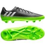 adidas Messi 16.3 FG/AG Space Dust - Gris/Argenté/Vert Enfant