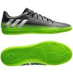adidas Messi 16.3 IN Space Dust - Dark Grey/Silver Metallic/Solar Green