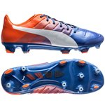 PUMA evoPOWER 1.3 FG - Blau/Weiß/Orange