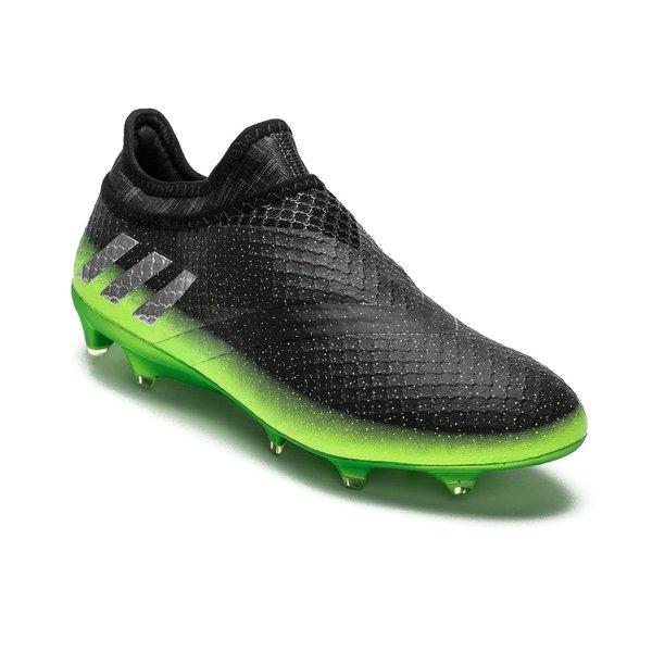 Ny 2016 Adidas Messi 16 Pureagility FG AG Gronn Fotballsko