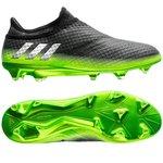 adidas Messi 16+ PureAgility FG/AG Space Dust - Grå/Sølv/Grøn