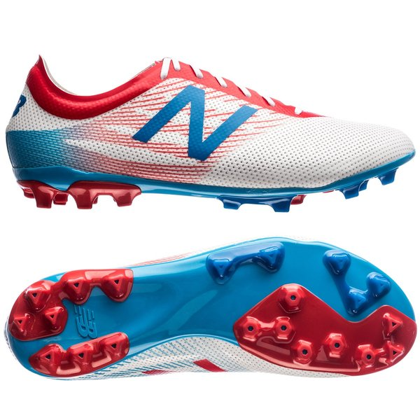 New Balance Furon 2.0 PRO AG - White Blue Red. Read more about the product.  - football boots. - football boots image shadow cd178674af79