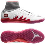Nike HypervenomX Proximo Neymar x Jordan IC - Hvid/Sølv/Rød