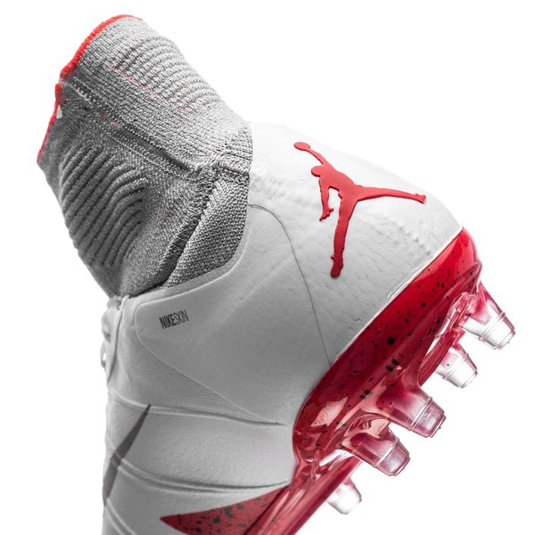 finest selection 8341e c5c59 Nike Hypervenom Phantom II Neymar x Jordan FG - Vit Silver Röd Barn.  Produkten är slut