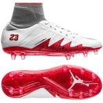 Nike Hypervenom Phantom II Neymar x Jordan FG - Weiß/Silber/Rot Kinder
