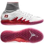 Nike HypervenomX Proximo Neymar x Jordan IC - Hvid/Sølv/Rød Børn