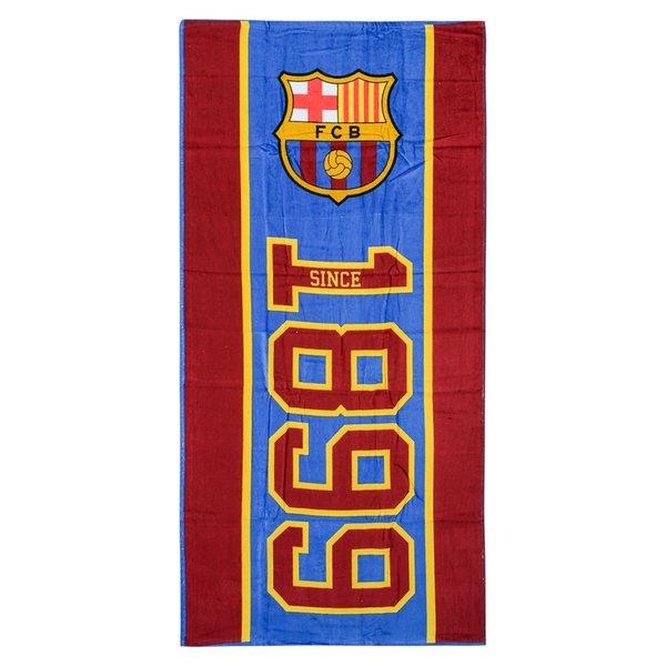 Barcelona Handduk - Röd Blå  d09dd7a962e03