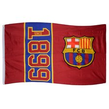 Image of   Barcelona Flag 1899 - Rød
