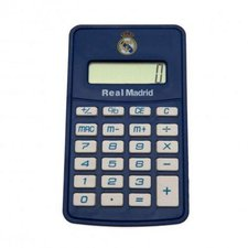 Real Madrid Calculator - Blå