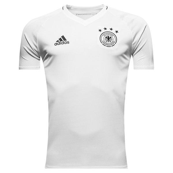 DFB Deutschland Training T Shirt WeißSchwarz Kinder