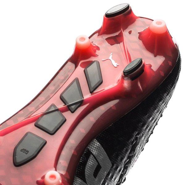 separation shoes b5e12 4c7af PUMA evoPOWER Vigor 1 FG - Sort Sølv Rød