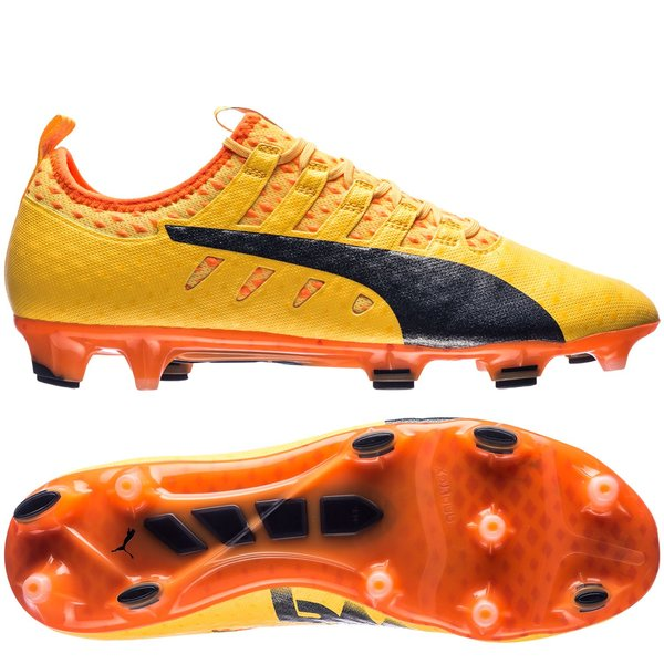 PUMA evoPOWER Vigor 1 FG Ultra YellowPeacoatOrange Clownfish