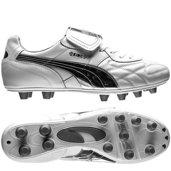a13dfc06013 puma king top made in italy chrome - white limited edition - football boots  ...