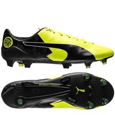 PUMA evoSPEED 17 SL-S Derby Fever Reus Sort/Gul LIMITED EDITION