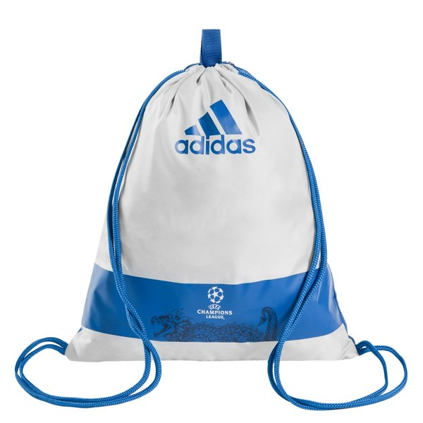 aba60d19d5df adidas Gym Sack Champions League - Light Onix Dark Marine