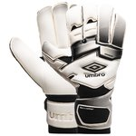 Umbro Goalkeeper Gloves Neo Pro Rollfinger Cut - White/Black