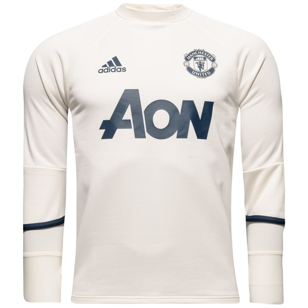 ef205f51445 Manchester United Training Shirt - Crystal White Collegiate Navy ...