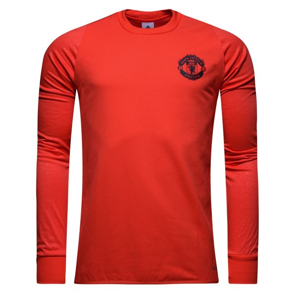 manchester united maillot d 39 entra nement rouge gris. Black Bedroom Furniture Sets. Home Design Ideas