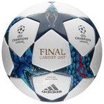 adidas Fodbold Champions League 2017 Finale Cardiff Kampbold - Hvid/Blå