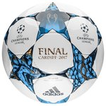 adidas Ballon Champions League 2017 Finale Cardiff Competition - Blanc/Bleu/Turquoise