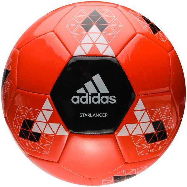 adidas ballon starlancer v rouge noir blanc. Black Bedroom Furniture Sets. Home Design Ideas