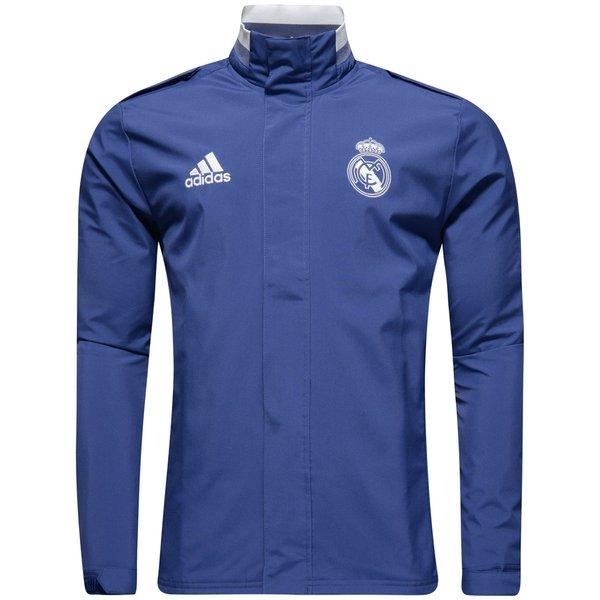 adidas Real Madrid Travel Sweatshirt Blau | adidas Austria