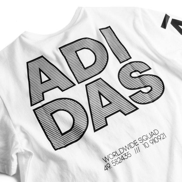 adidas T Shirt 360 Weiß | unisportstore.at