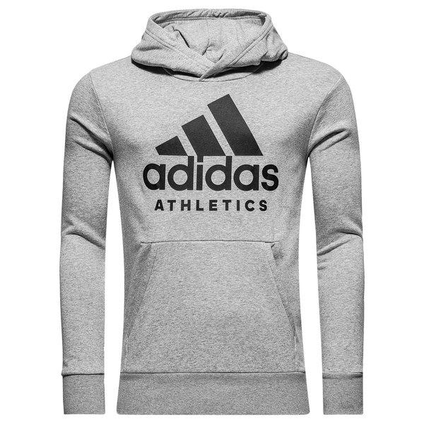 e0318e5c adidas Hettegenser Athletics - Grå/Sort | www.unisportstore.no