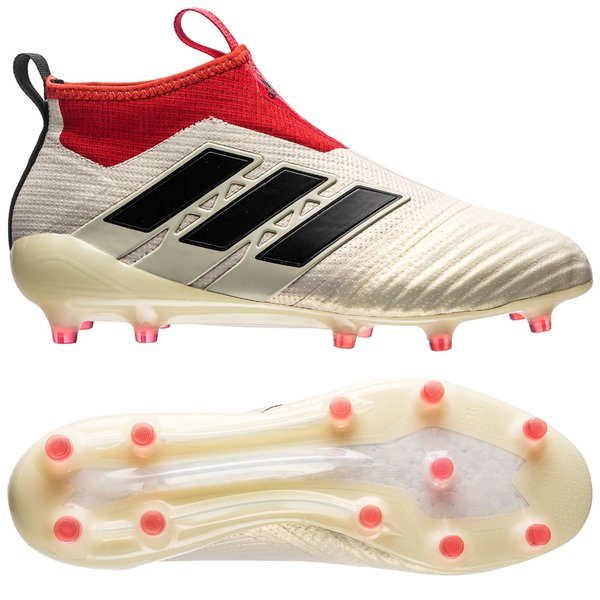 reputable site 3d14d 65cac adidas ACE 17+ PureControl FGAG Champagne - HvidSortRød LIMITED