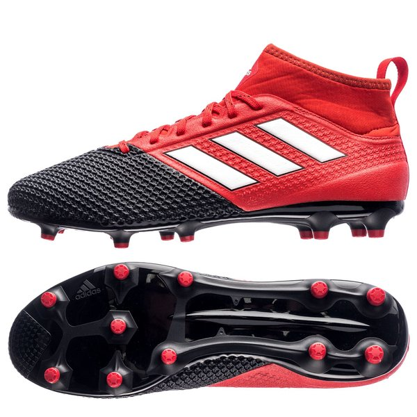 new style c72e9 fd4f6 adidas ACE 17.3 Primemesh FG/AG Red Limit - Red/Feather ...