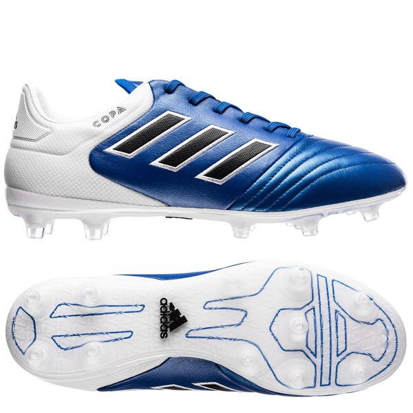 adidas Copa 17.2 FGAG Blue Blast Blue BlastSortHvit